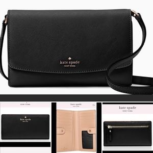 🆕NWT Kate Spade Laurelway Addison purse & wallet